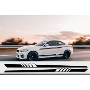2 x Seitenbänder für Autos