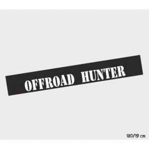 """""""Offroad Hunter"""" ,  Auto Sonnenschutz"""