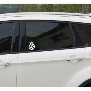 Volkswagen mit Krone