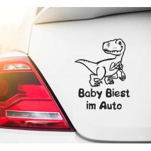 Babytier im Auto