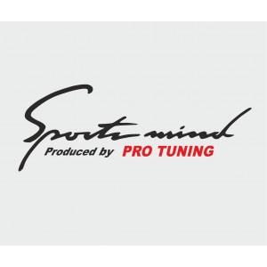 Sport mind pro tuning, Auto Aufkleber