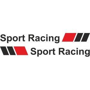 2 x Aufkleber für Audi, Power sport