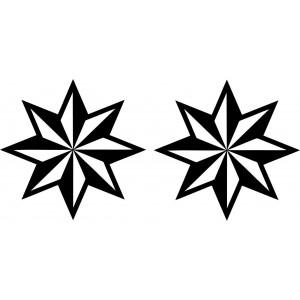 Set Sternaufkleber
