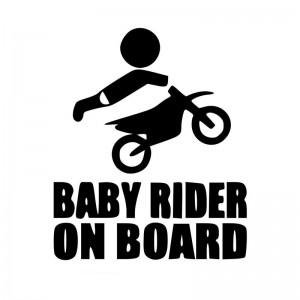 Babybiker an Bord