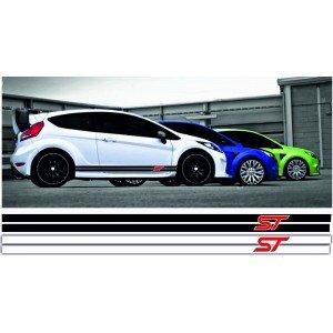 2 x Aufkleber für Ford ST