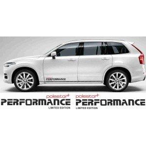 2 x Aufkleber,Polestar Performance für Volvo