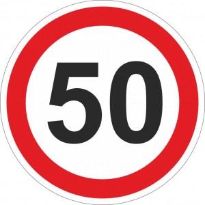 50 km einschränkend