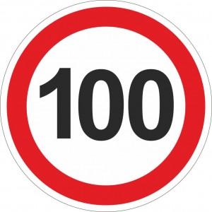 100 km einschränkend