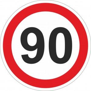 80 km einschränkend